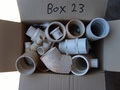 Box #23 - End of contract clearance. Mixed condition products. Assorted pressure fittings