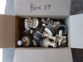 Box #59 - End of contract clearance. Mixed condition products. Assorted test plugs.