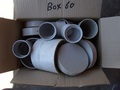 Box #60 - End of contract clearance. Mixed condition products. Assorted DWV fittings.