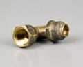 BRASS FLARED ELBOW