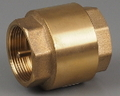BRASS INLINE SPRING CHECK VALVES