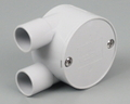 ELECTRICAL CONDUIT JUNCTION BOX PVC