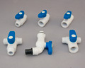 PVC MINI BALL VALVES