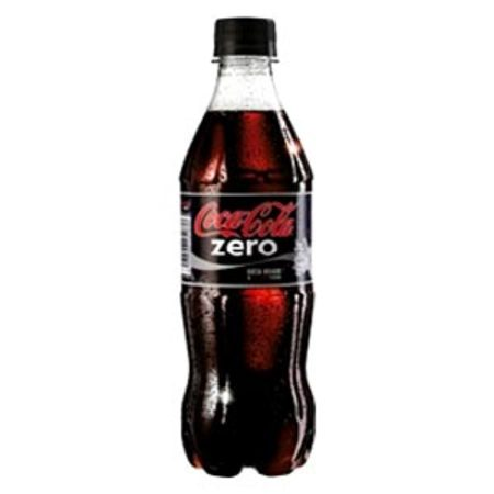Coca-Cola Zero 500ml 6 bottle pack