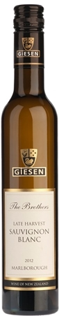 Giesen The Brothers Late Harvest Sauvignon Blanc 2012 (375ml)