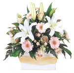 Pure as a Dove - soft and delicate mix of Perth flowers