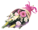 Pretty Pink flowers for the ladies - delivered