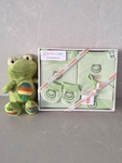 4 PC Organic Cotton Clothing Set ~ AND Frankie Frog
