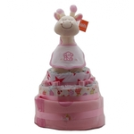 Large Nappy Cake Pink