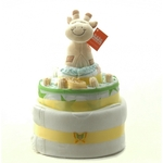 Nappy Cake Neutral Giraffe