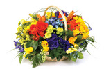 """Joy""  Basket Arrangement"