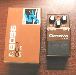 Boss OC2 Octave Pedal