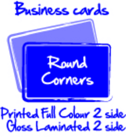 1000 business cards full colour two sides on 300gsm gloss laminated 1000 business cards full colour two sides on 300gsm gloss laminated on two sides 86 x 54mm rounded corners reheart Gallery
