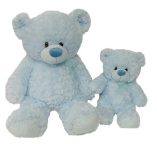 Medium Blue Baby Boy Bear